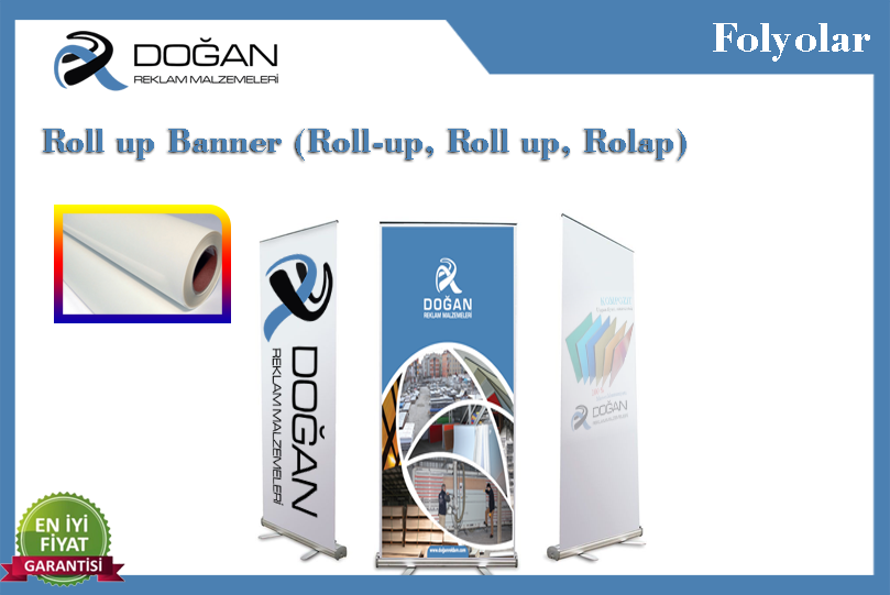 Roll up Banner (Roll-up, Roll up, Rolap).