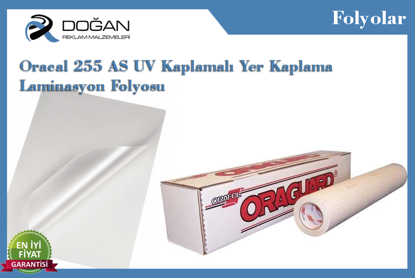Oracal 255 AS Yer Kaplama Laminasyon Folyosu 170 micron