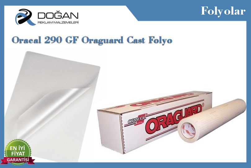 Oracal 290 GF Oraguard Cast Folyo